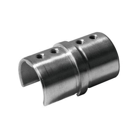 Соединительный элемент для поручня с пазом, Ø48.3 мм, cc73