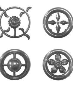 Декоративные кольца и шары