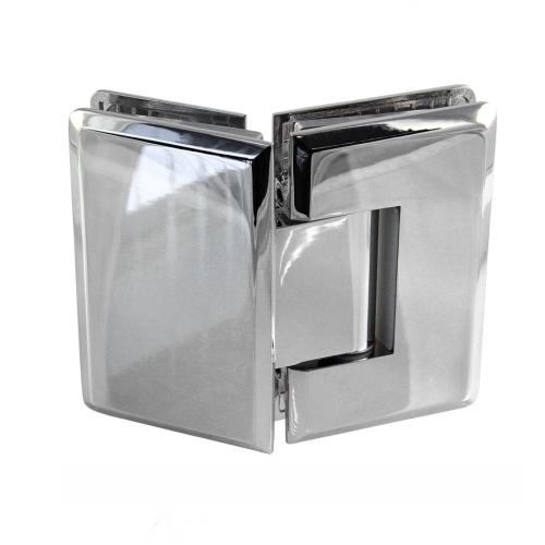 Петля малая стекло-стекло 135° cc1002, для душевых кабин, душевых дверей и перегородок