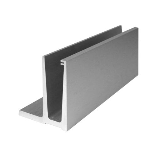 Алюминиевый профиль для стеклянного ограждения, L002.03