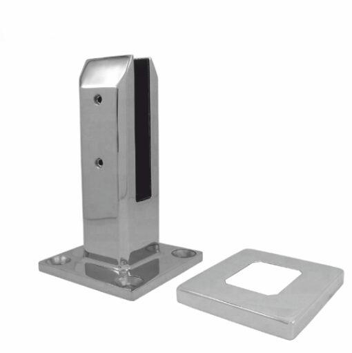 Напольная стойка для стекла, квадратная, cc107