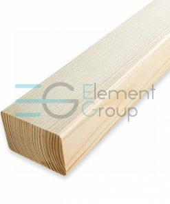 Поручень 45x70 мм деревянный, дуб