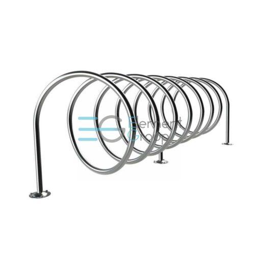 велопарковка спираль